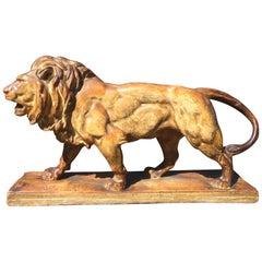 Lion Sculpture by Antoine-Louis Barye