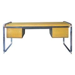 Zebrawood Desk by Peter Protzmann for Herman Miller