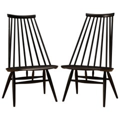 Vintage Ilmari Tapiovaara Mademoiselle Chairs