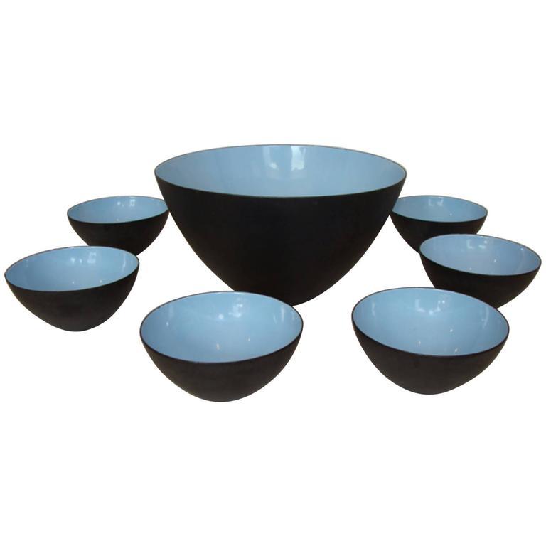 Set of Vintage Krenit Bowls
