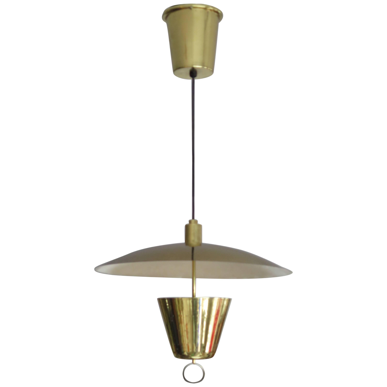 Brass Pendant Adjustable Lamp