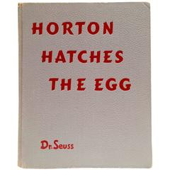"""Horton Hatches The Egg"" by Dr. Seuss 1940 1st Edition/First Printing Book"