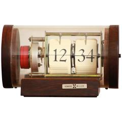 Arthur Umanoff Rosewood Clock for Howard Miller