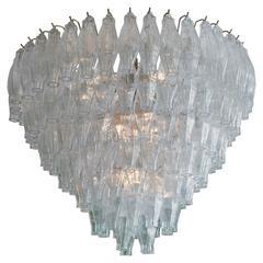 Vintage Venini Glass Chandelier