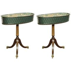 Unusual Pair of Regency Jardinieres