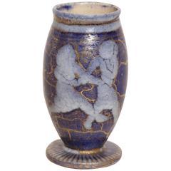 Jean Mayodon French Art Deco Small Stoneware Vase