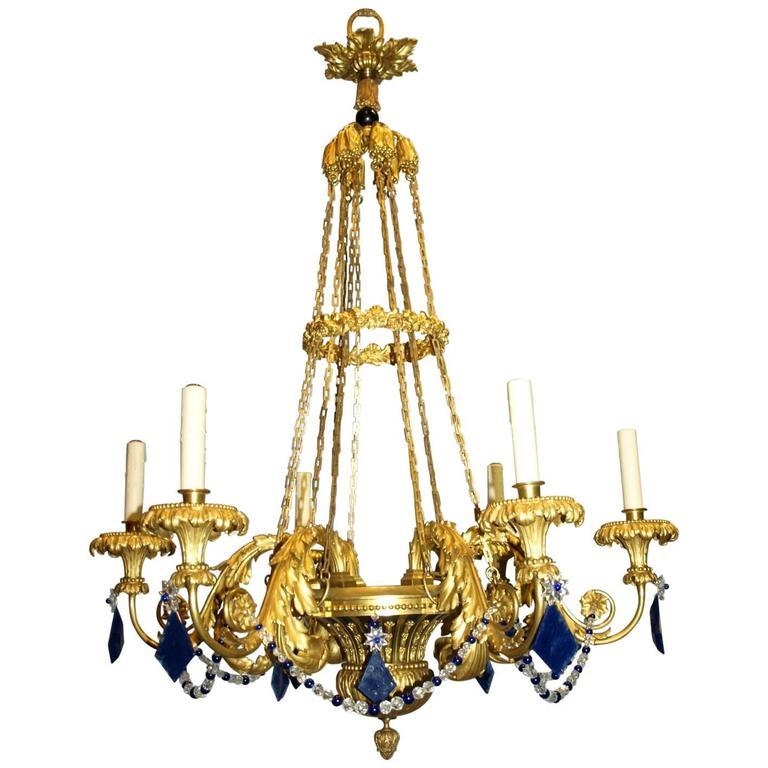 Russian chandelier, ca. 1860