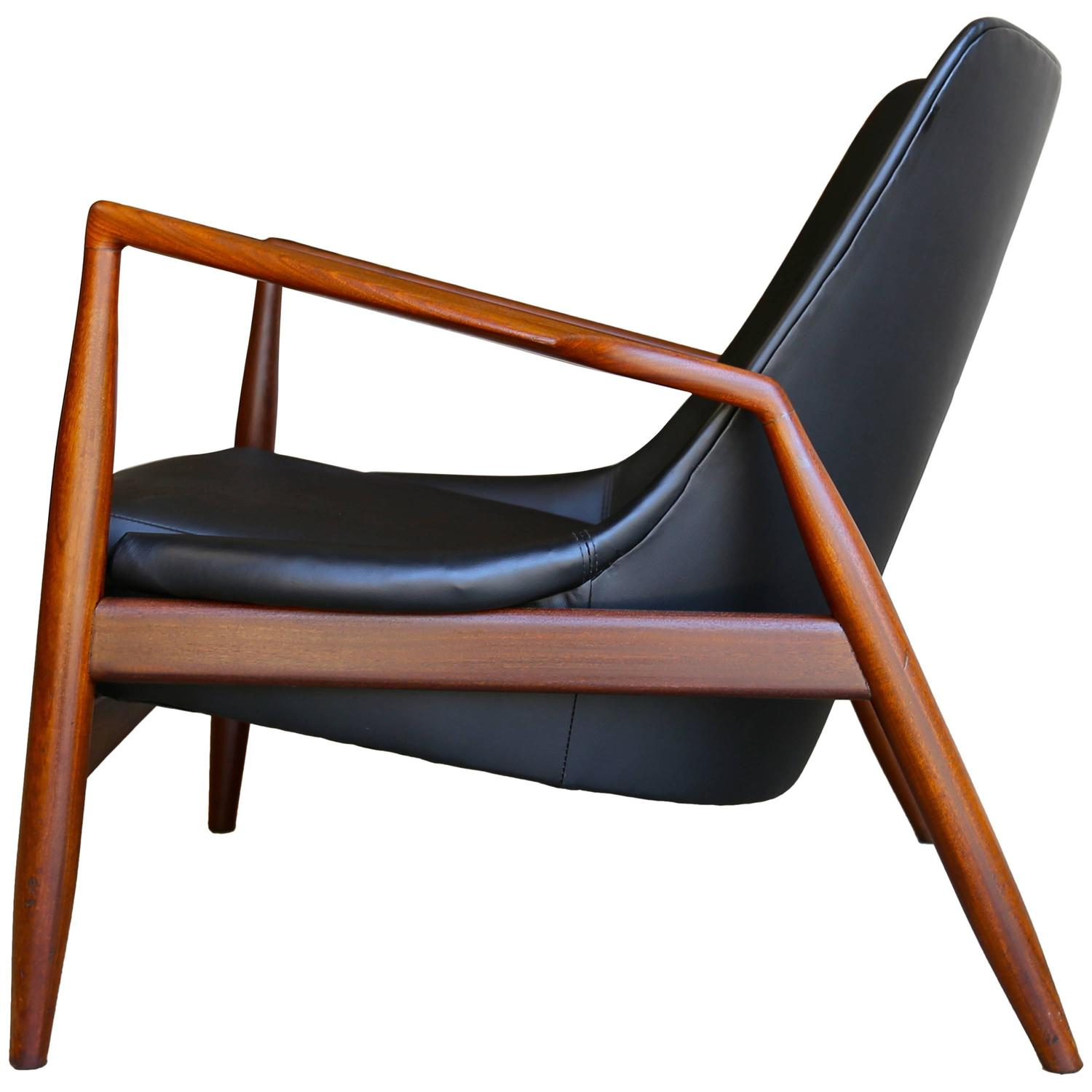 This sculptural pair of lounge chairs by ib kofod larsen is no longer -  Seal Chair By Ib Kofod Larsen