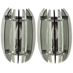 Pair of Sconces by Veca