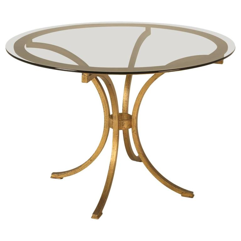 Small French Gilt Table