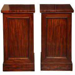 Pair of Late 19th Century English Bedside Tables