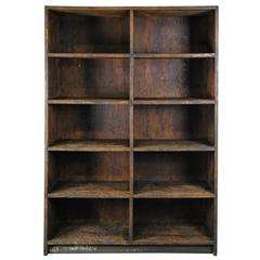1930 Mercantile Wooden Industrial Storage Cabinets