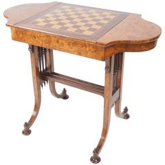 Pollard Oak Games Table, circa 1825