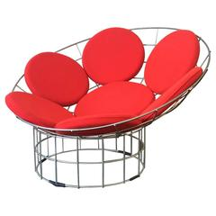 Verner Panton Peacock Lounge Chair For Sale At 1stdibs