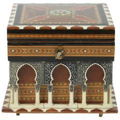 Alhambra Handmade Music Box by Victor Moleroa