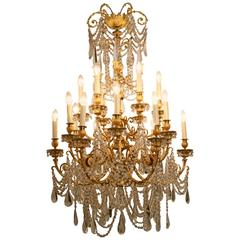 Exceptional Louis XVI Style Chandelier