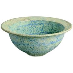 Bowl with Pale Blue Glaze by Peter Beard