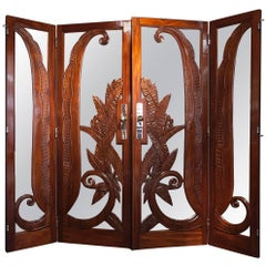 Pair of Fine and Rare Doors, Paul Moreau-Vauthier, France, 1926