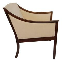 Ole Wanscher Rosewood Lounge Chair