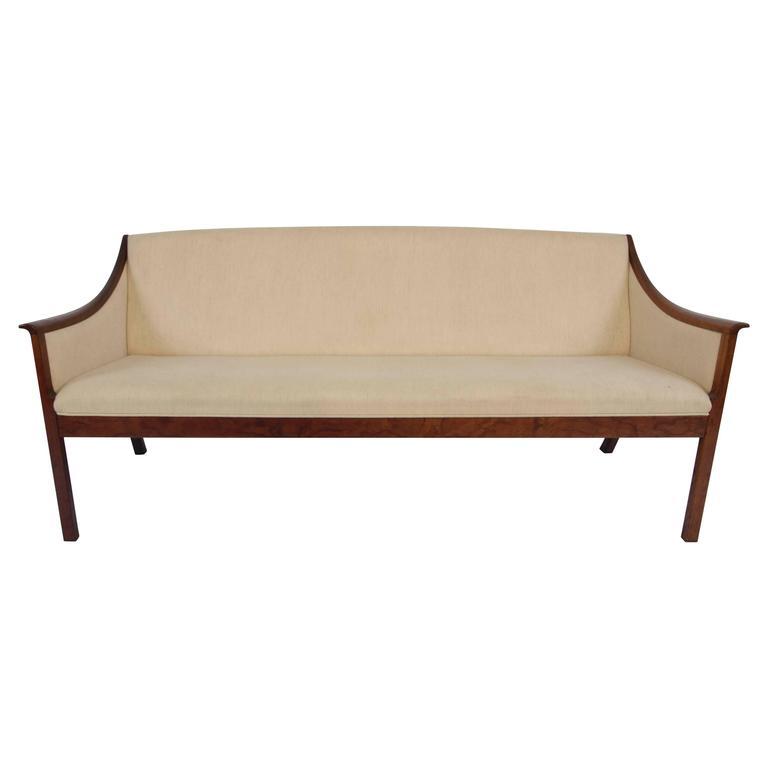 Ole Wanscher Rosewood Sofa