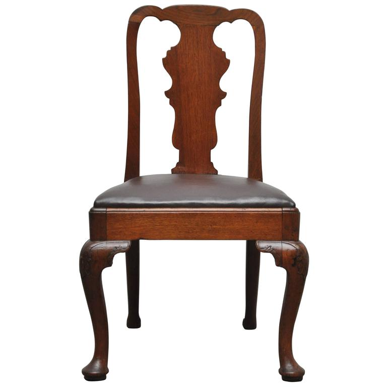 Lovely Queen Anne Style Chair For Sale