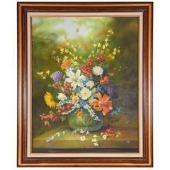 Ethelwyn Shiel Still Life Floral Painting