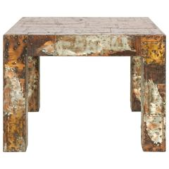 Patchwork Series Table by Paul Evans