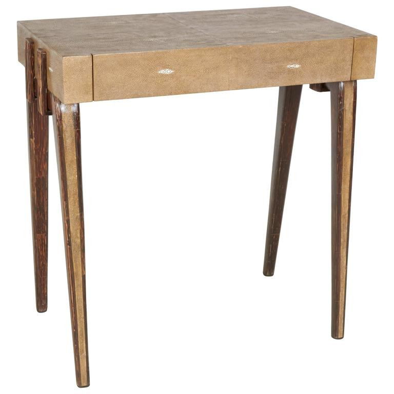 Charming Side Table or Nightstand by R & Y Augousti, Paris For Sale