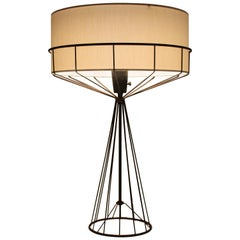 Tony Paul Table Lamp from the Wire Series, Mid Century Modern 1950s
