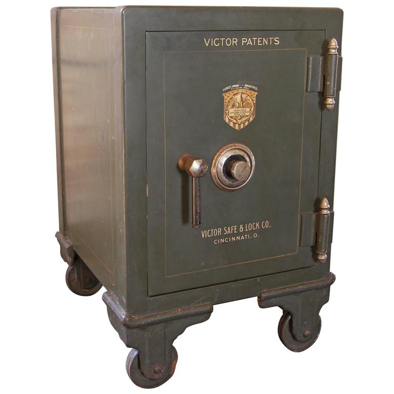 Vintage Victor Safe Victor Safe And Lock Company At 1stdibs