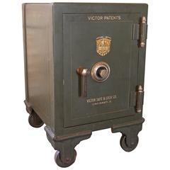 Vintage Victor Safe, Victor Safe and Lock Company