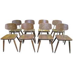 Eight Raymond Loewy Chairs