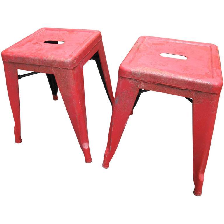 Pair of tolix marais stools at 1stdibs - Tolix marais barstool ...