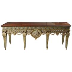 Large and Important Louis XVI Style Console Table from Blairsden House