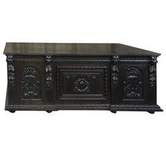 19th Century Grand Renaissance Revival Desk