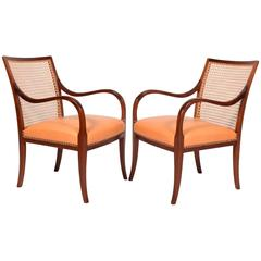 Pair of Armchairs by Frits Henningsen