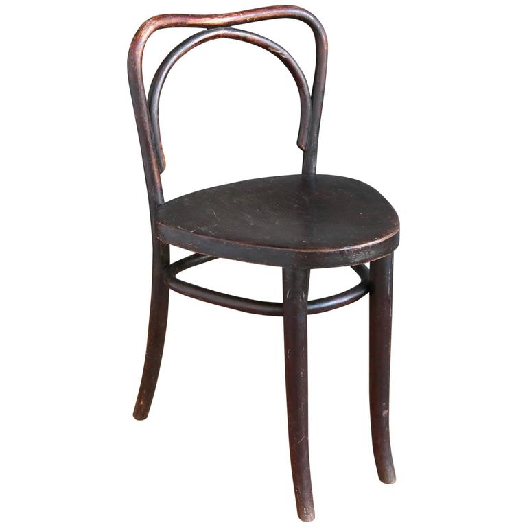Early Bentwood Chair by Kohn and Mundus at 1stdibs