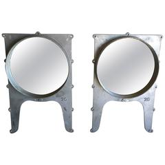 Pair of American Wall Mirrors