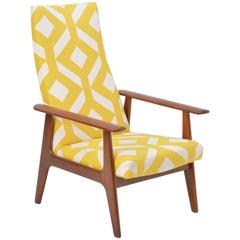Dutch Mid-Century Modern Teak Lounge Chair by Topform