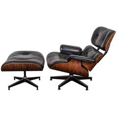 Eames 670 Lounge Chair and 671 Ottoman