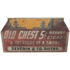 Havana Cigar Sign in Original Paint