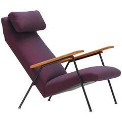 1950s Easy Armchair Attributed to Willy Van Der Meeren