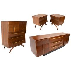 Mexican Modernist Bedroom Set by Frank Kyle