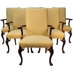 Six Hickory & Co. Armchairs Dining/Conference/Library