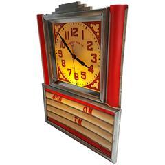 Art Deco Light-Up Clock