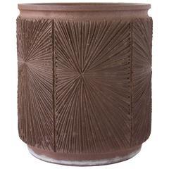 David Cressey/Robert Maxwell Earthgender Cylindrical Planter