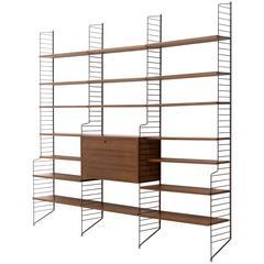 Mid-Century 'Ladder Shelf' by Nils Strinning for AB Sweden String Design, 1950