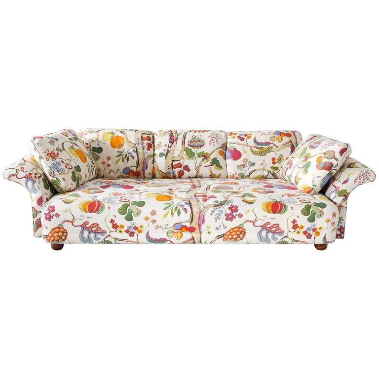 Delightful Josef Frank U0027Liljevalchsu0027 Sofa In Original J. Frank Fabric ... Idea