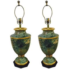 Pair of Neoclassical Inspired Lamps