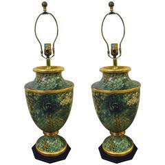Pair of Neoclassical Inspired Lamps